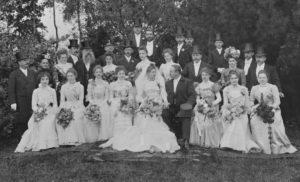 Sňatek dcery Lucie s doktorem K. Johnem