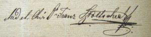 Doktorův podpis